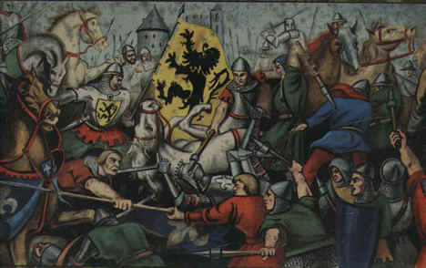 715 jaar geleden: de Guldensporenslag