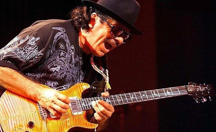 Carlos Santana wordtzeventig…