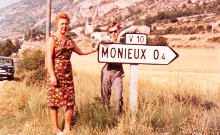 55 jaar geleden: eerste vakantie inMonieux