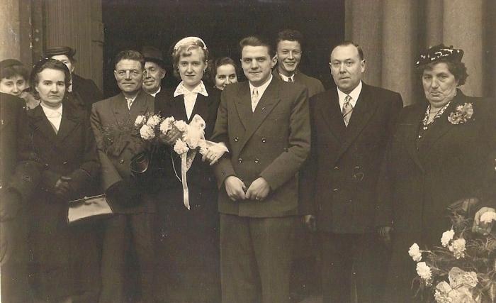 Vijftig jaar geleden: huwelijk Jan De Wilde en Lieve VanSteenberghe