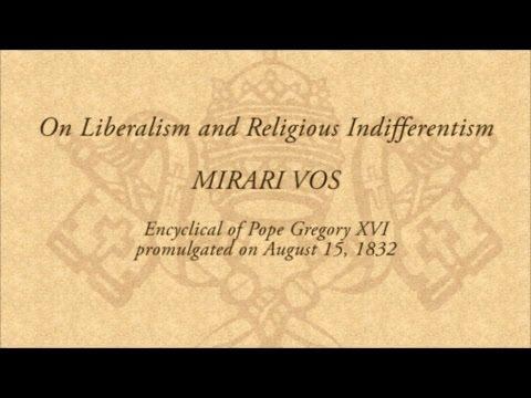 """185 jaar geleden: de pauselijke encycliek """"MirariVos"""""""