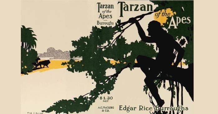 """105 jaar geleden: de eerste aflevering van """"Tarzan of theApes"""""""