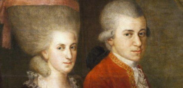 235 jaar geleden: huwelijk van W.A.Mozart met ConstanzeWeber