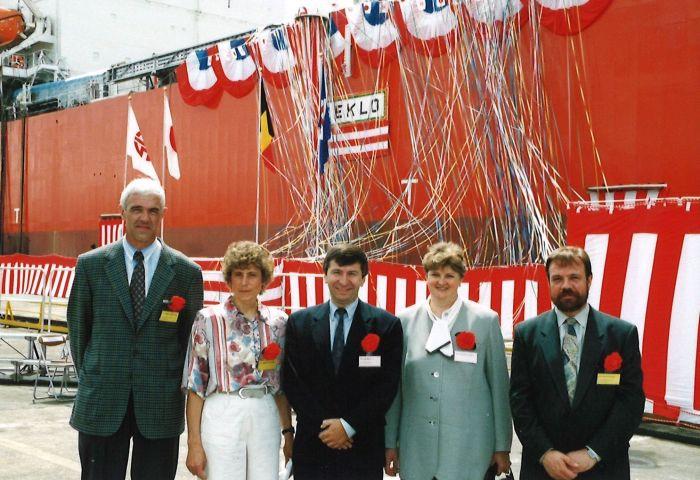 Reisherinneringen (2): doop gastanker Elversele in Sakaida en bezoek aan Tokyo, juli1995