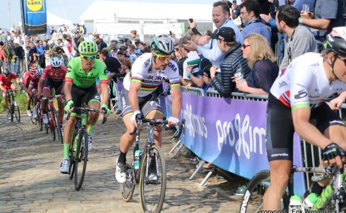 Peter Sagan voor de derde keerwereldkampioen