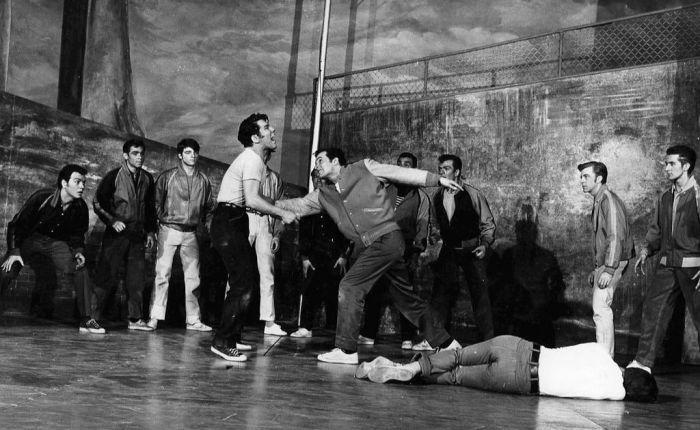"""Zestig jaar geleden: première van """"West Side Story"""" opBroadway"""