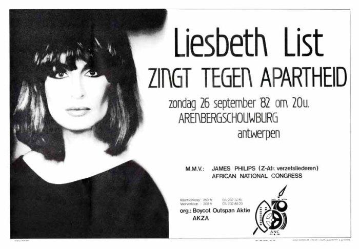 Dertig jaar geleden: zingen tegenapartheid