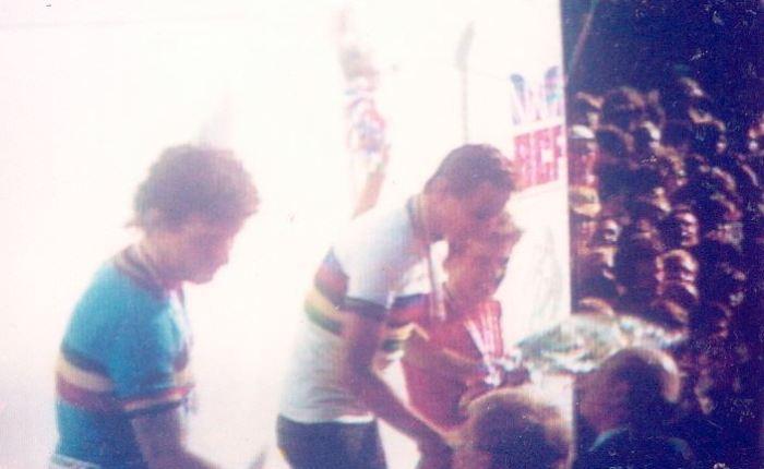 35 jaar geleden: Bernd Drogan wordt wereldkampioen bij de amateurs in Goodwood vóór FrancisVermaelen