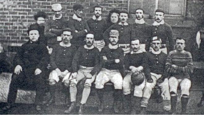 160 jaar geleden: stichting van de eerstevoetbalclub