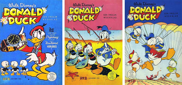 """65 jaar """"Donald Duck"""" (hettijdschrift)"""