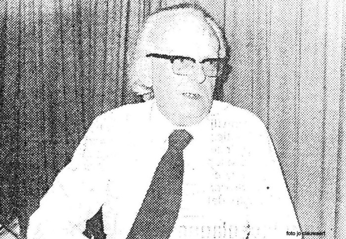 Zeventig jaar geleden: Gerard Van Moerkerke wordt hoofdredacteur bij De RodeVaan