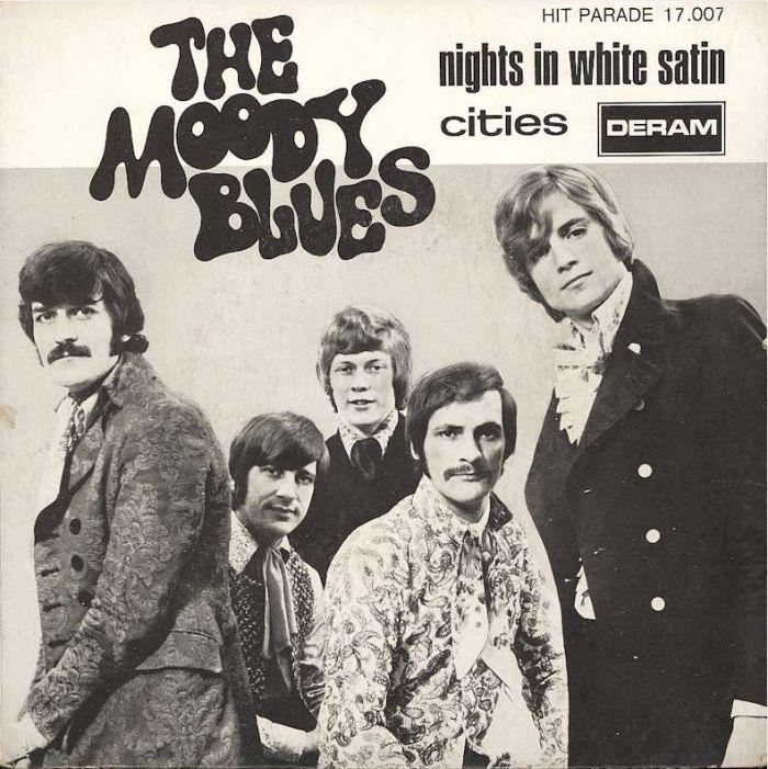 """Vijftig jaar geleden: opname van """"Nights in whitesatin"""""""