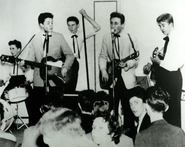 Zestig jaar geleden: Paul McCartney debuteert bij TheQuarrymen