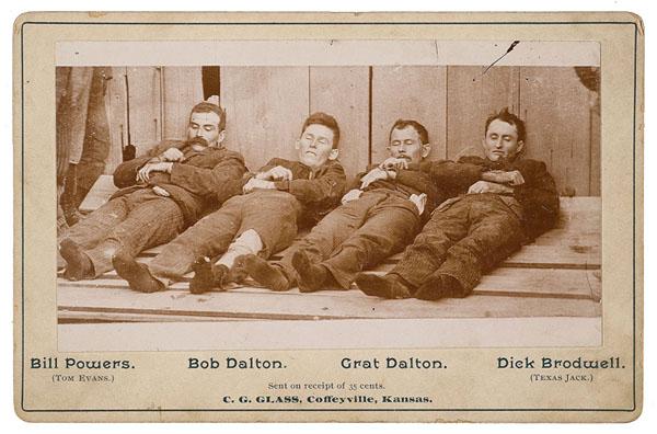 125 jaar geleden: dood van deDaltons