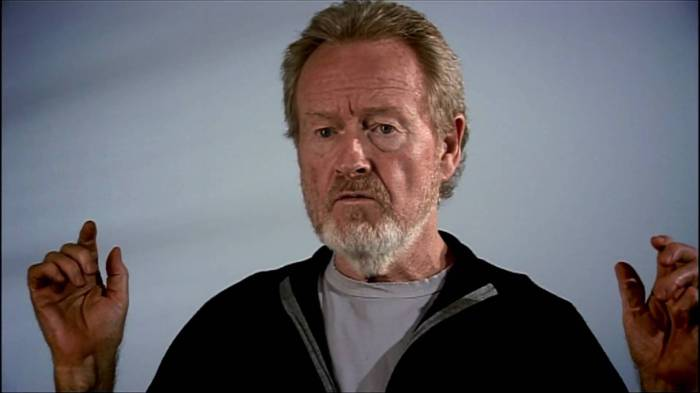 Ridley Scott wordttachtig…