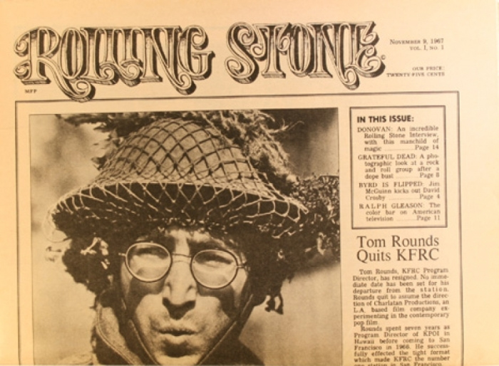 Vijftig jaar geleden: eerste nummer van RollingStone