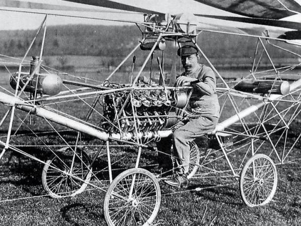 110 jaar geleden: de eerstehelicopter