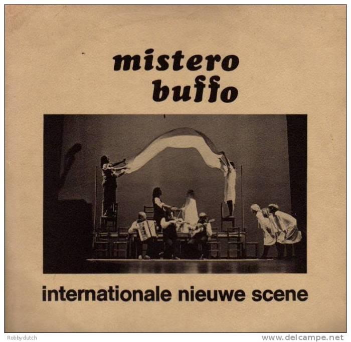 """45 jaar geleden: première van """"MisteroBuffo"""""""