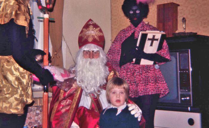 35 jaar geleden: Sinterklaas aan hetlijntje