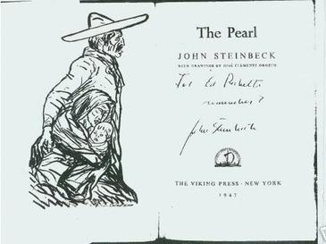 """Zeventig jaar geleden: """"The Pearl"""" (JohnSteinbeck)"""