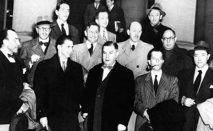 """Zeventig jaar geleden: veroordeling van """"The HollywoodTen"""""""
