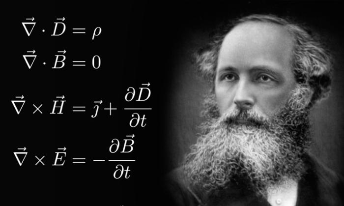 155 jaar geleden: James Clerk Maxwell bewijst het bestaan van electromagnetische golven