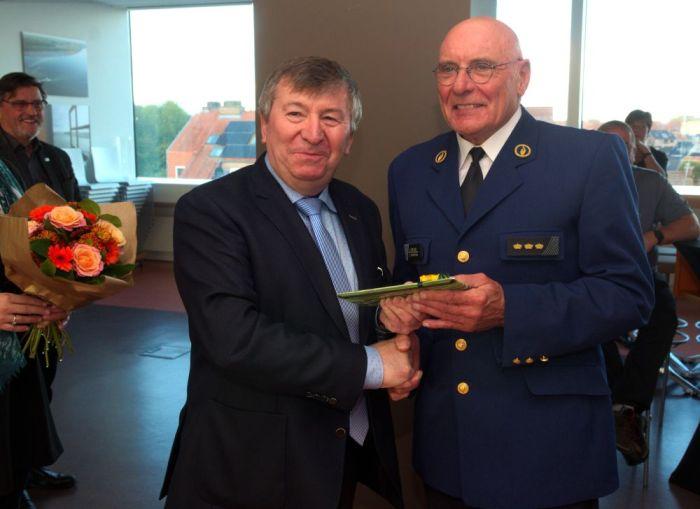 Hoofdcommissaris Antoine Van Hove neemt na 40 jaar afscheid van depolitie