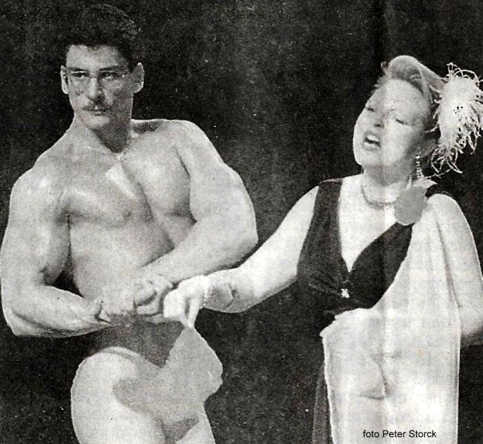 Duet voor sopraan en bodybuilder