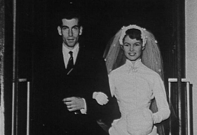 65 jaar geleden: huwelijk Roger Vadim en BrigitteBardot