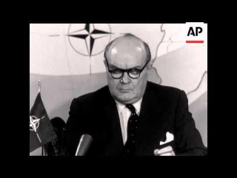Zestig jaar geleden: Paul-Henri Spaak wordt secretaris-generaal van deNAVO