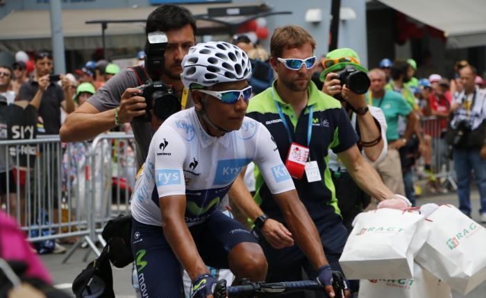 Nairo Quintana wint in de Ronde vanFrankrijk