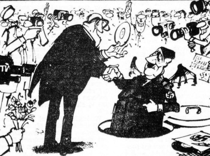 Veertig jaar geleden: een redevoering van Hitler of Göring alscadeau?