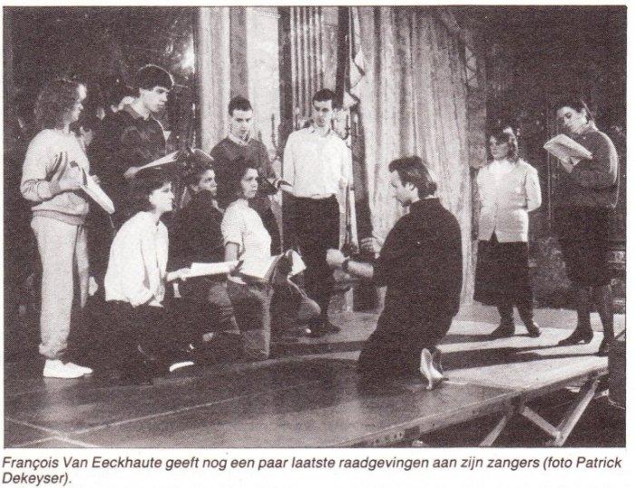 """Dertig jaar geleden: """"Dido en Aeneas"""" in de GeleZaal"""