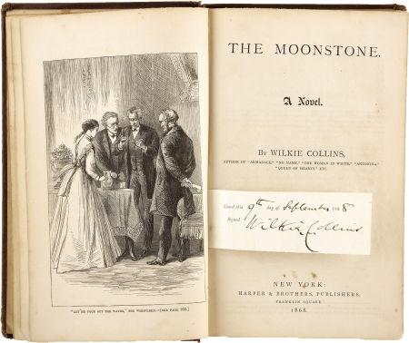"150 jaar geleden: eerste aflevering van ""The Moonstone"""