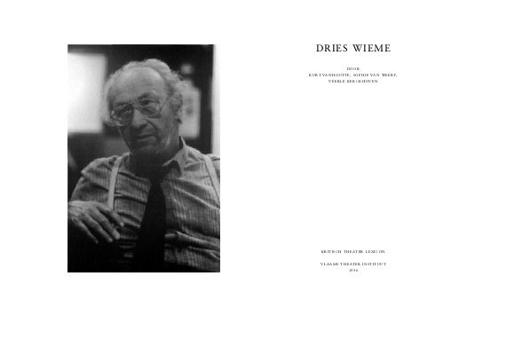 Dries Wieme (1927-1993)