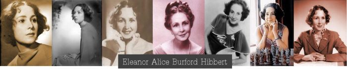 Eleanor Burford (1906-1993)