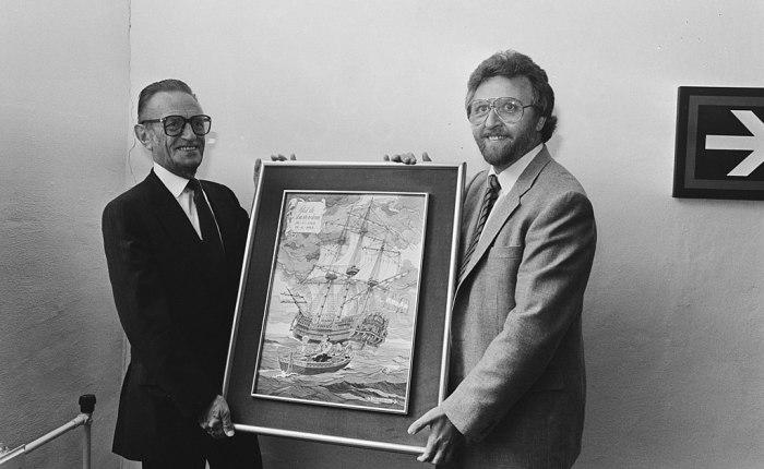 Vijftig jaar geleden: Paul Geerts komt in dienst bij StudioVandersteen