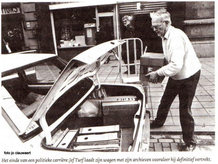 Dertig jaar geleden: Jef Turf ontslagen als politiekdirecteur