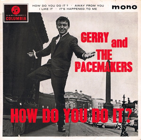 "55 jaar geleden: Gerry & the Pacemakers nemen ""How do you do it"" op"