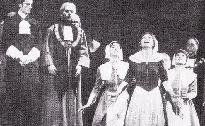"""65 jaar geleden: creatie van """"The Crucible"""" (ArthurMiller)"""