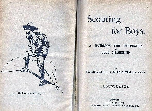 """110 jaar geleden: Baden-Powell publiceert """"Scouting forboys"""""""