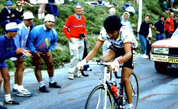 35 jaar geleden: Luis Herrera wint als eerste Colombiaan eenTourrit