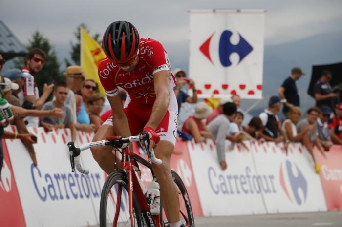 Nicolas Edet gedeklasseerd in de Tour del'Ain