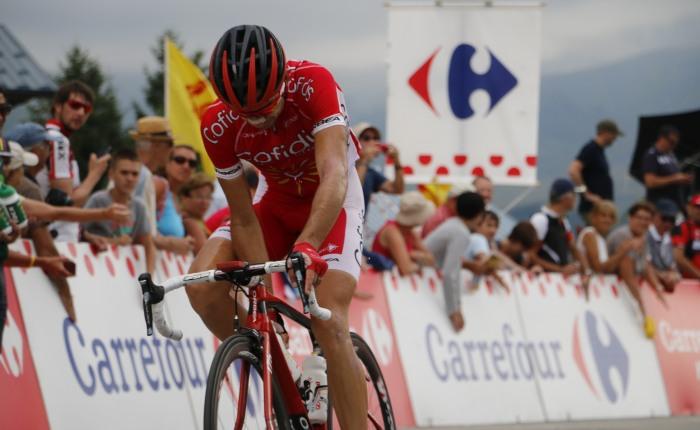 Nicolas Edet wint het bergklassement inParijs-Nice