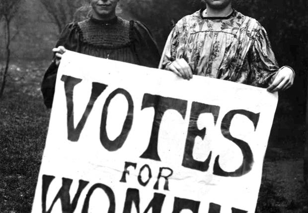 Honderd jaar geleden: Engelse vrouwen van boven de dertig krijgenstemrecht