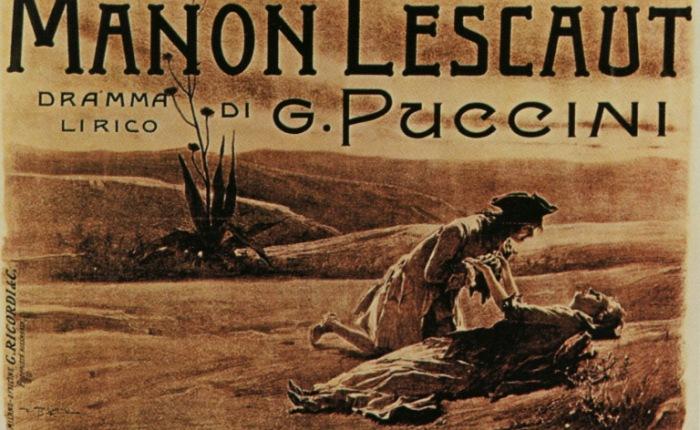 """125 jaar geleden ging de opera """"Manon Lescaut"""" inpremière"""