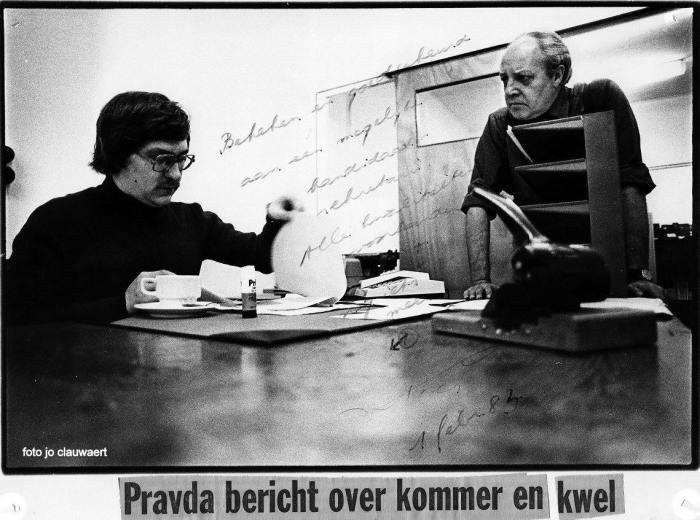 """35 jaar geleden: """"diploma"""" van Lode DePooter"""