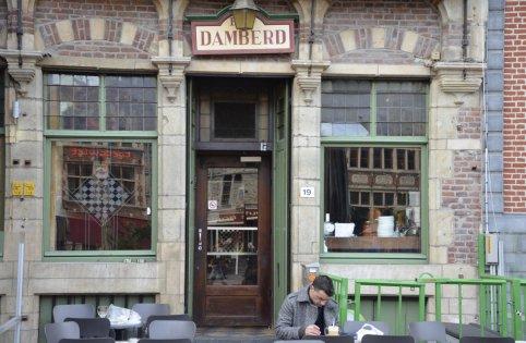 Jazz-café Damberd in Gent geeft er de bruiaan