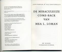 Dertig jaar geleden: De miraculeuze come-back van MeaL.Loman