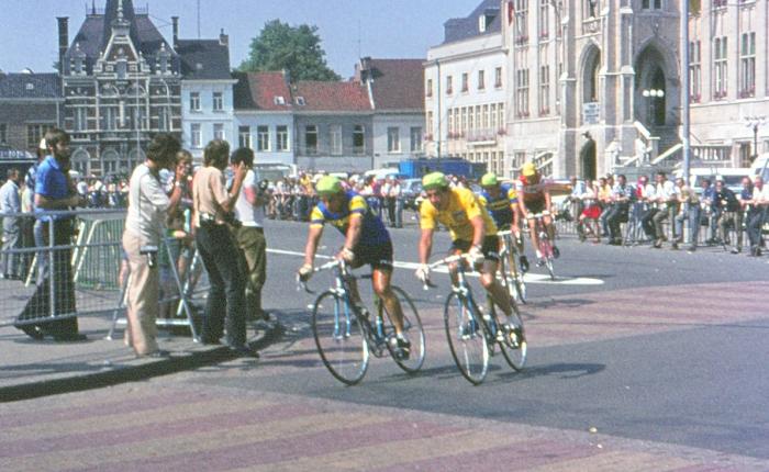 45 jaar geleden: Herman Vanspringel neemt de gele trui inSint-Niklaas